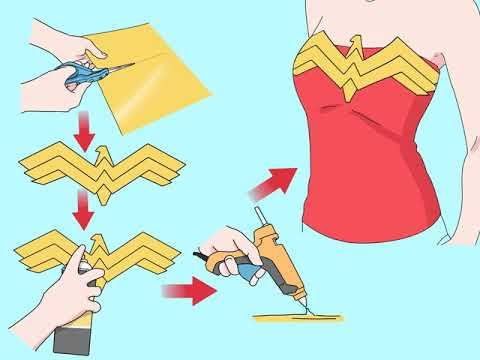 Easy DIY Wonder Woman Costume! from YouTube · Duration:  9 minutes 7 seconds