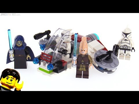 LEGO Star Wars Jedi & Clone Troopers Battle Pack review! 75206