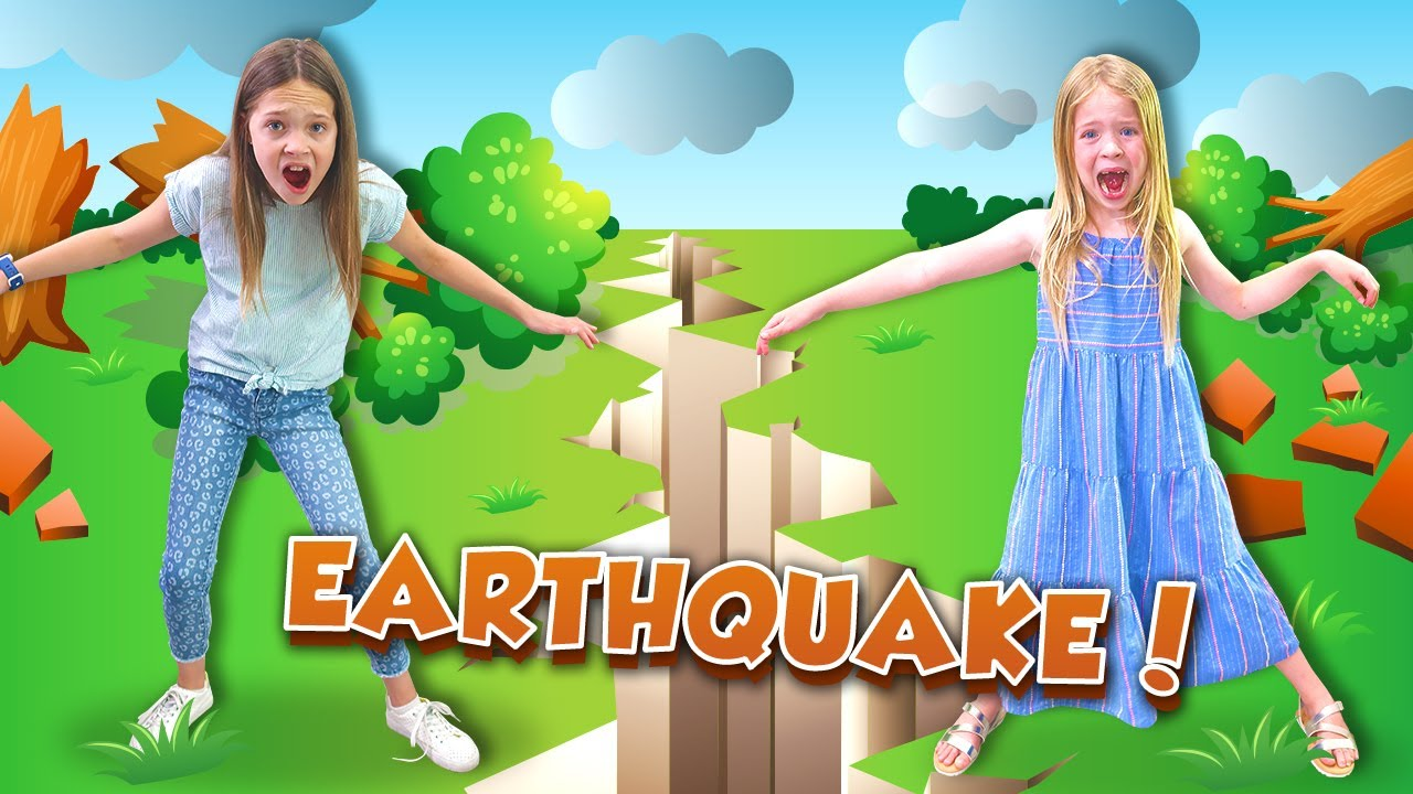Giant EARTHQUAKE Destroys our HOUSE !!!