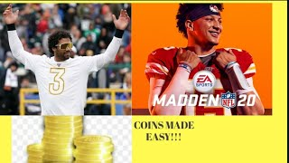 Madden 20 Coin Method (w/proof) part 18 (easy fast coins)