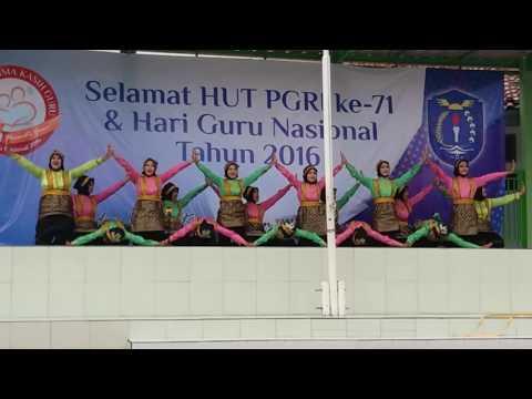 Persembahan Tari Saman SMKN 6 JAKARTA Special Hari Guru
