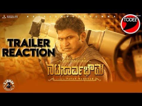 natasaarvabhowma-official-trailer-reaction-by-todez- -puneeth-rajkumar- -pavan-wadeyar
