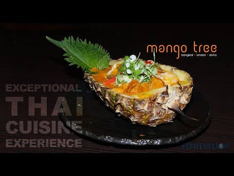 Mango Tree is a fine dining Halal Thai restaurant in Belgravia, London