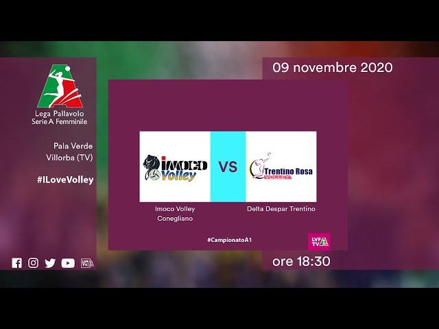 Conegliano - Trento | Speciale | 11^Giornata Campionato | Lega Volley Femminile 2020/21