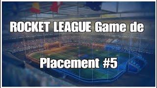 Rocket League 5eme game de placement