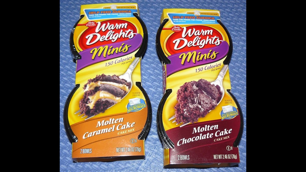 Warm Delights Molten Chocolate Cake Instructions