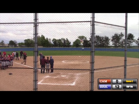 Softball: Brookdale vs Camden County, Game 2