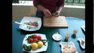 Cook And Eat Lebanese - Fattoush And Rocca & Zaatar Salad