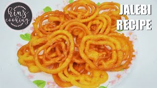 How to Make Jalebi at Home - Crispy Jalebi Recipe - Instant Jalebi by Hinz Cooking