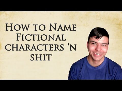How to Name Ficitonal Characters, Locations, & Objects  Grauvlog 12