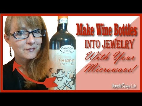 Upcycling Glass Bottles into Jewelry with the Fuseworks Microwave Kiln