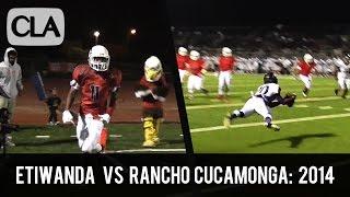 Etiwanda vs Rancho Cucamonga (2014): HS Football Highlights (16-9) - CollegeLevelAthletes.com