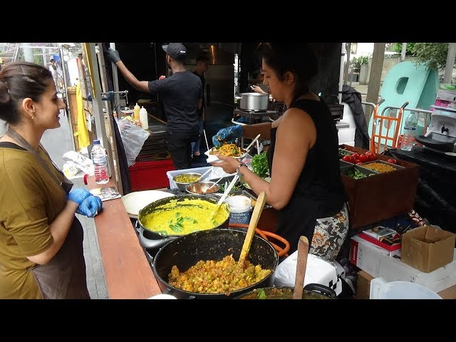 SONITAS KITCHEN: Healthy North Indian Punjabi Street Food at Alchemy (& Camden Lock Market, London)