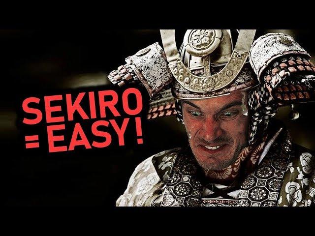 Sekiro Full Gameplay (0 Deaths Run)