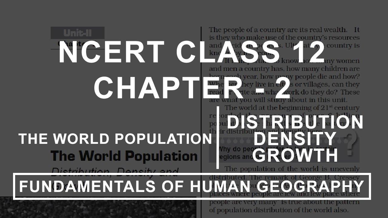 Population Geography Book Pdf