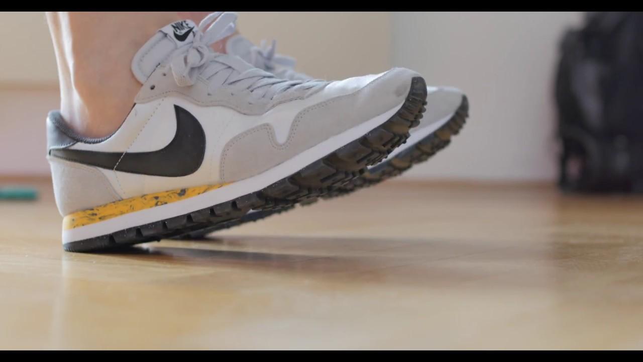 on sale 0a56f 14c54 Nike Air Pegasus 83 whiteblackyellow special edition rare sneaker REVIEW