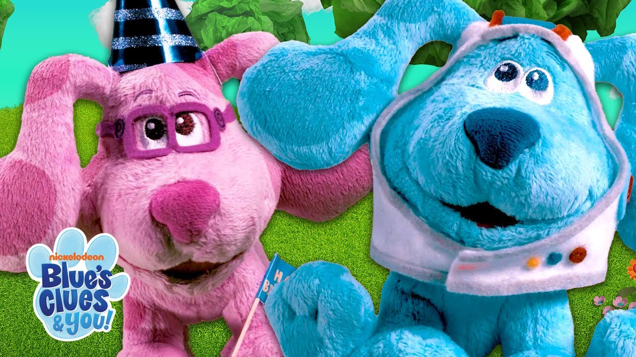 Blue Plays 'Dress Up' Game With Magenta!   Blue's Clues & You!