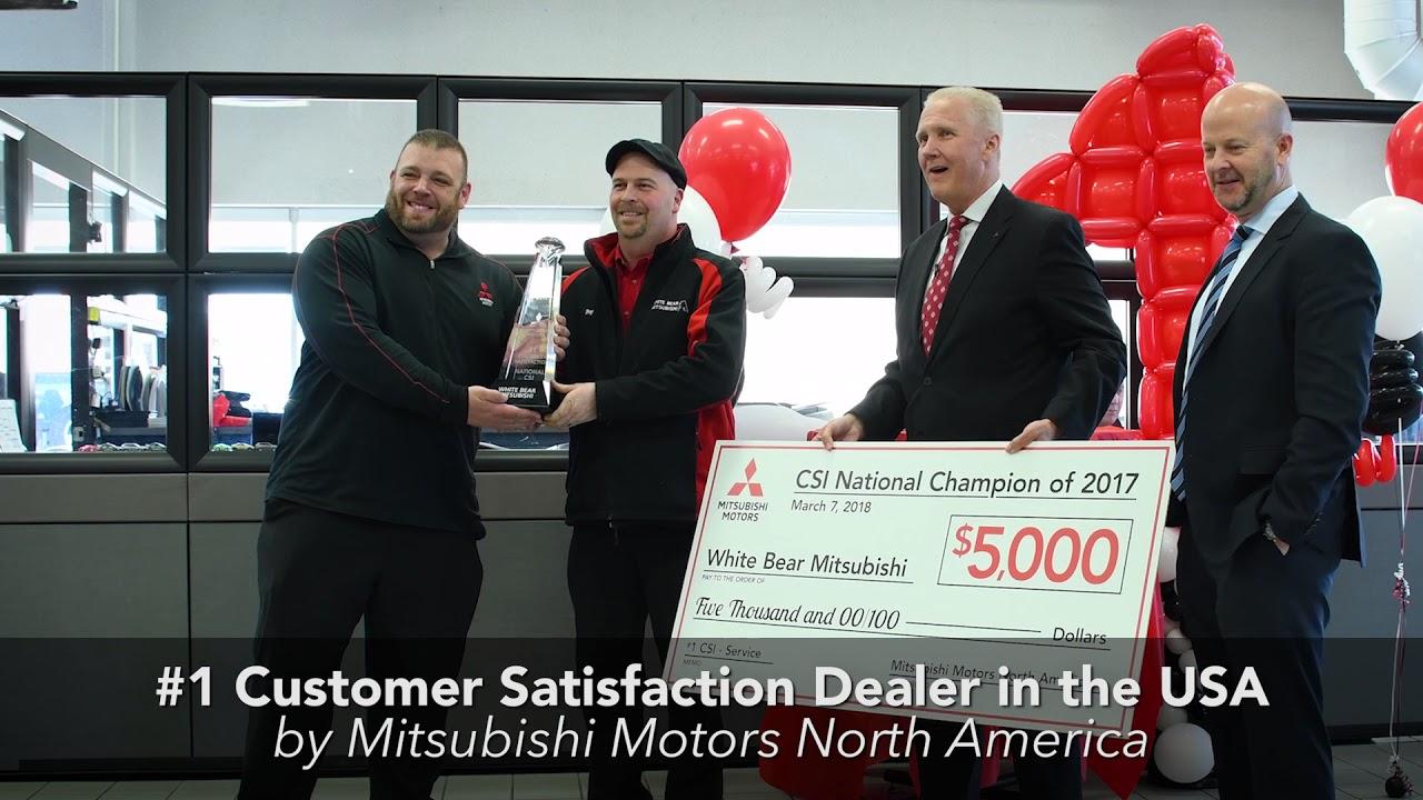 White Bear Mitsubishi >> White Bear Mitsubishi Customer Service Award Presentation