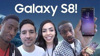 Samsung Galaxy S8: YouTubers REACT!