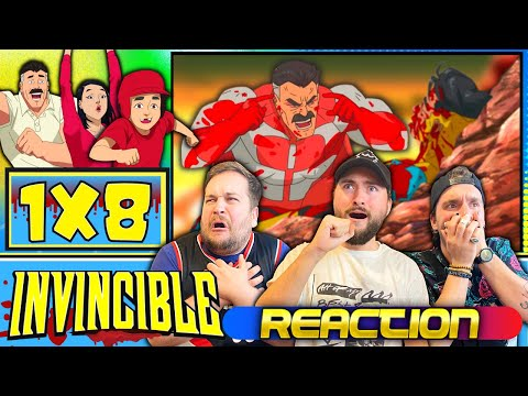 """INVINCIBLE FINALE REACTION!!!! 1X8 """"Where I Really Come From"""""""