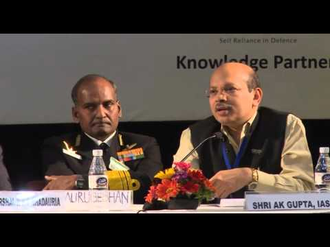 DIIA Inaugural Conclave: Accelerating Indigenous Des. & Devlpmnt - II with A K Gupta, Secy DP