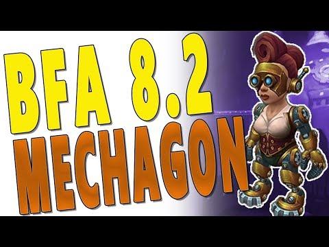 BfA 8.2 MECHAGON - BEST *NEW* DUNGEON EVER?! | WoW: PTR Battle for Azeroth