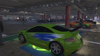 GTA 5 Livestream - FAST AND FURIOUS CAR MEET and Racing PS4