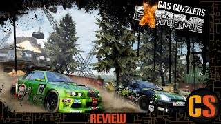 GAS GUZZLERS EXTREME - PS4 REVIEW (Video Game Video Review)