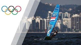 Van Rijsselberghe wins Windsurfing RS:X gold