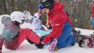 Learning to Snowboard with Sabre Norris in Thredbo
