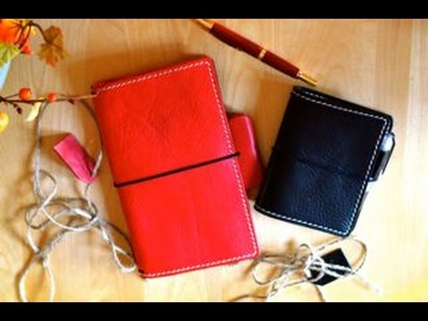 New Innovations to The Travelers Notebook | Naked Cow!!