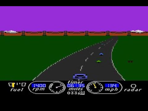 The Great American Cross Country Road Race [Atari] longplay