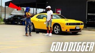 CAR WASH GOLD DIGGER PRANK!!