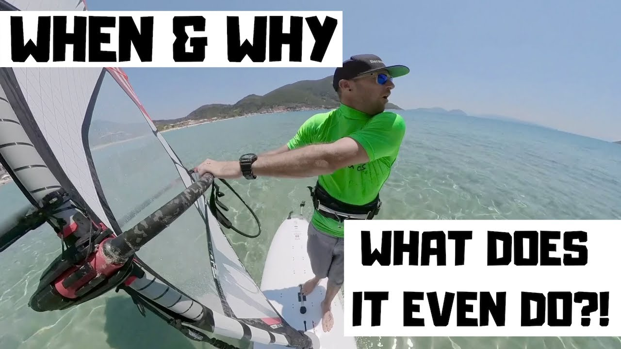 When & why should you remove the daggerboard?