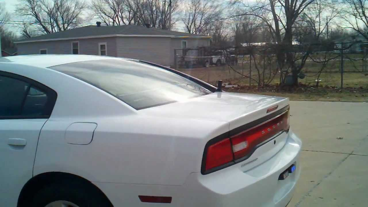 2011 2012 Dodge Charger Police Package With Emergency