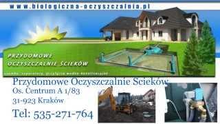 oczyszczalnie ścieków małopolskie, szamba ekologiczne małopolskie