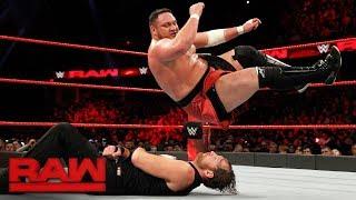 Dean Ambrose vs. Samoa Joe: Raw, Dec. 11, 2017