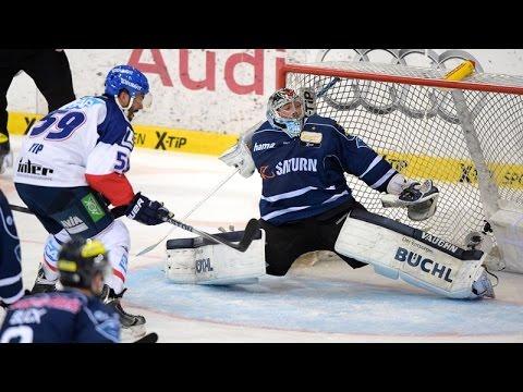 ERC Ingolstadt vs Adler Mannheim - German Ice Hockey League Highlights - 22.04.15