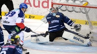 ERC Ingolstadt vs Adler Mannheim - German Ice Hockey League Highlights - 22.04.15