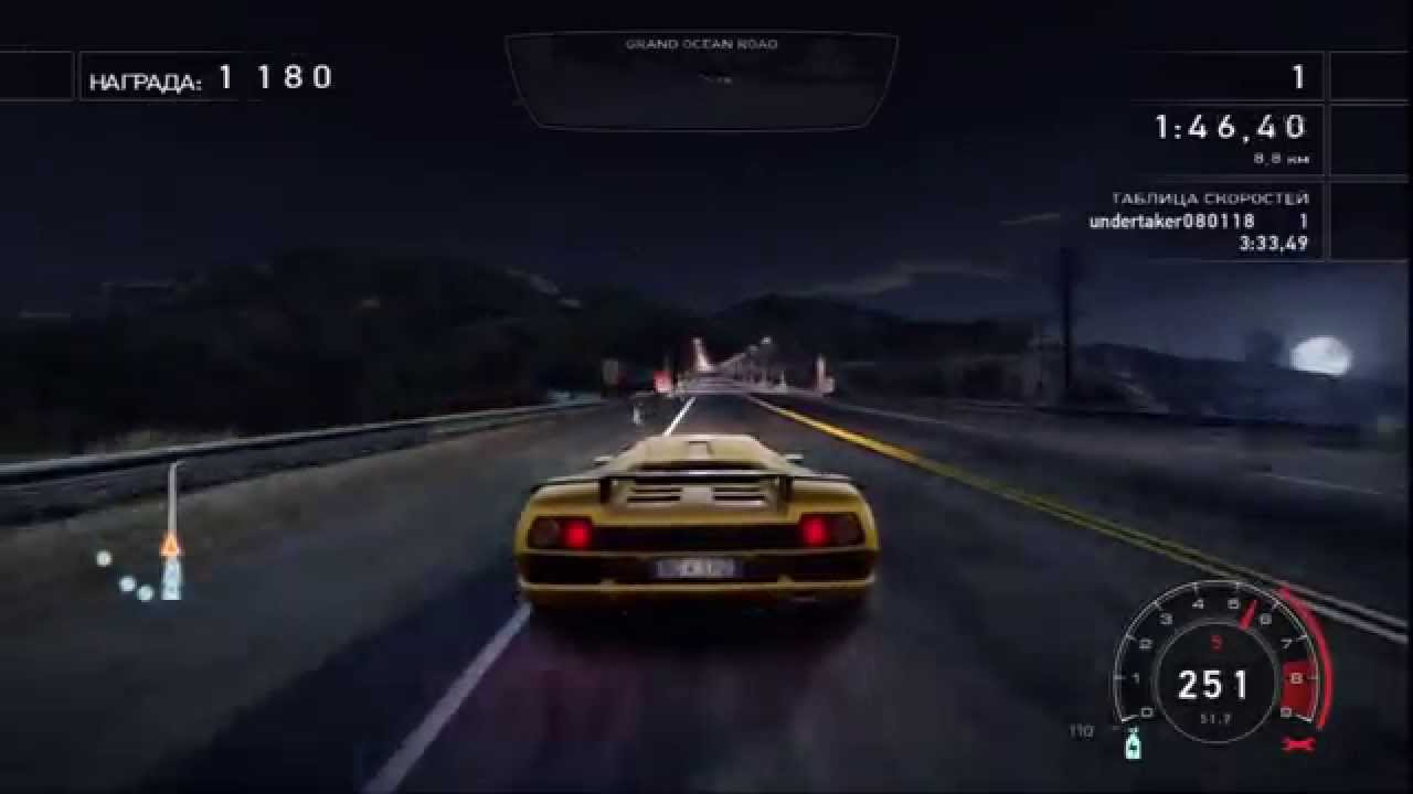need for speed hot pursuit lamborghini diablo sv youtube. Black Bedroom Furniture Sets. Home Design Ideas