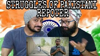 Indian Reaction on Struggles of Pakistani Reporter| our vines & Raxx Production| Vicky | Gurveer