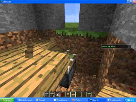 Minecraft Tuzak Kancası ile Tuzak