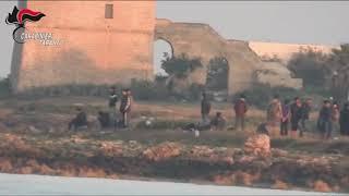 Sbarco clandestini a Torre Colimena, Manduria