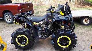 HMF Performance Exhaust Sound (Can Am Renegade 1000r)