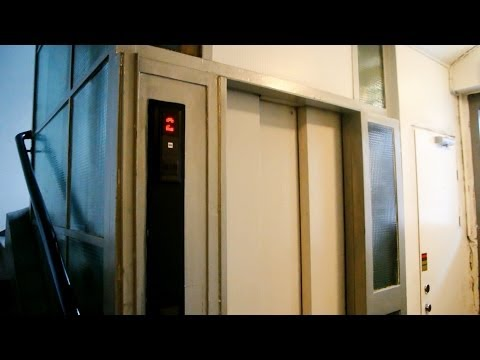 Horrible KONE Novel traction elevators @ Storgata 38, Oslo, Norway