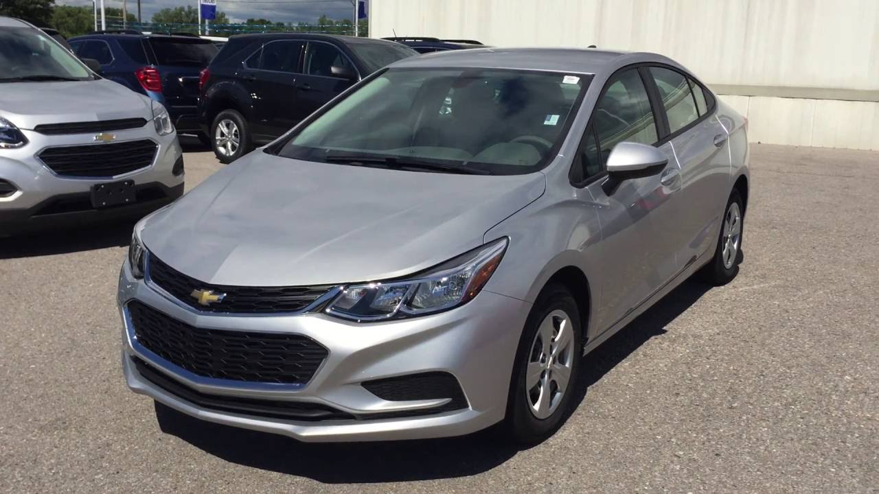 Chevy Cruze Silver Autos Post