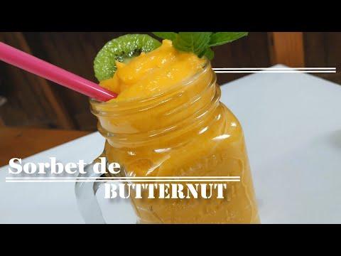 recette-glacée-facile-:-🍨sorbet-de-butternut-!!🤔🤤-[dessert-alimentation-équilibrée]
