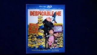 Unboxing Despicable Me Blu-Ray 3D/Blu-Ray/DVD/Digital Copy