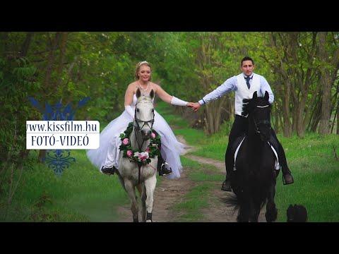 Gyermekkori álmunk a lovas esküvő volt! Cinó és Gyuri lóháton/KISSFILM.HU