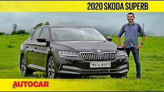 2020 Skoda Superb Facelift - Still want that German sedan? | First Drive Review | Autocar India